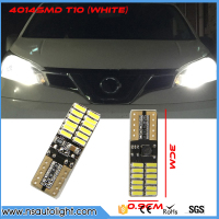 2pcs Canbus Car Auto Lamp LED T10 W5W 4014 SMD Bulb Side Parking Clearance Light For CITROEN C4 C5 C3 C2 Berlingo Xsara Saxo