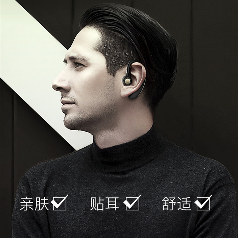 New Fashion K06 Wireless Bluetooth Business Headsets Headphone Earphone 300mAh Super Long Standby for IOS and Android Smartphone
