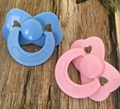Dolls Accessories  Tiny Pacifier Dummy For Reborn Baby Dolls Pink Blue Color Not Magnet Babies Pacifier