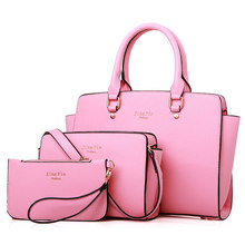 Women Gorgeous Elegant Composite Bag Luxury Designer font b Handbag b font Ladylike Single Shoulder Ladies
