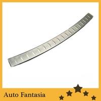 Chrome amortecedor traseiro placa de proteção para volkswagen golf mk6 frete grátis