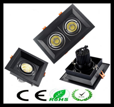 10pcs black-square Dimmable Led COB Ceiling led downlight 10w 20w 30w rotating 110/220V surface mounted Indoor Lighting high quality desktop power supply for r510 g7 600w tdps 600cb b fully tested