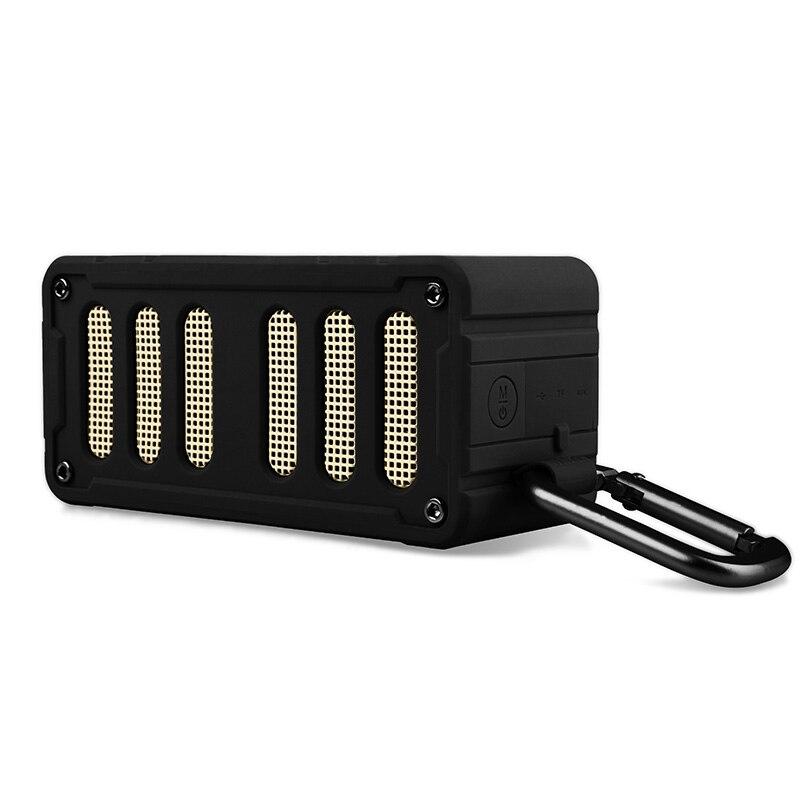 NFC Mifa F6 IPX4 Compatível Estéreo falante sem fio Bluetooth 4.0 Estéreo Portátil À Prova D' Água Ao Ar Livre Speaker microfone Embutido