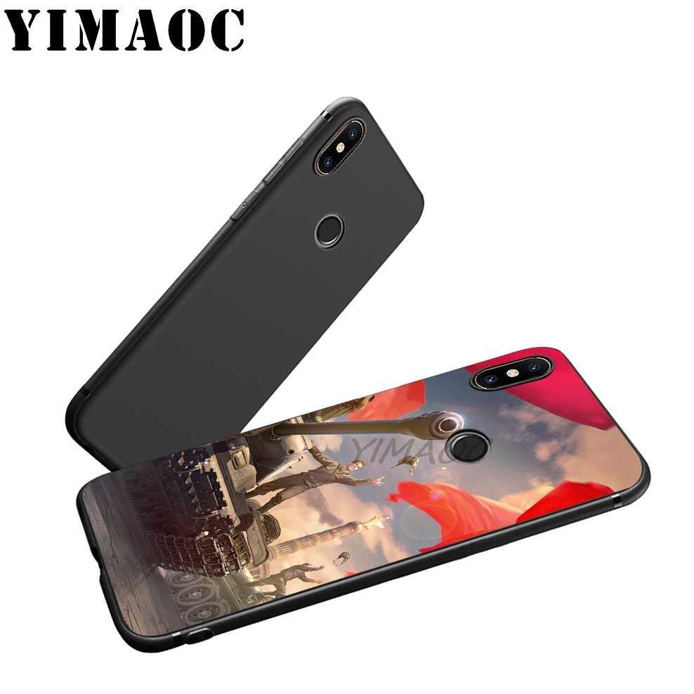 YIMAOC 世界のタンクソフトケース xiaomi Redmi 注 7 6 6A 5 4 4X 4A 5A S2 Redmi 7A 行く K20 プラスプロ