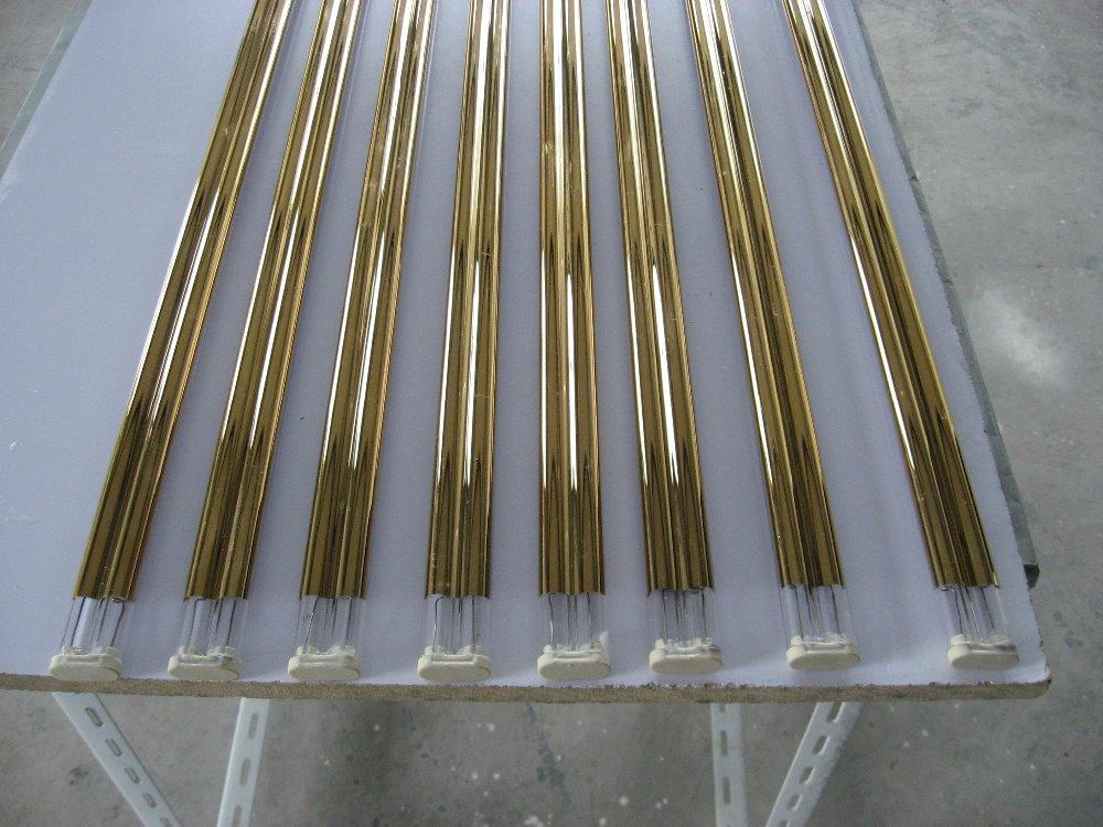 twin tube  gold coating  Quartz infrared drying lamps 2000w ильиных н в домашние гамбургеры