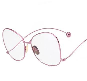 0039d29d9 N42 2016 العلامة التجارية مصمم أزياء النساء نظارات شمسية عدسة واضحة uv400  حماية شخصية بالغت الرجال