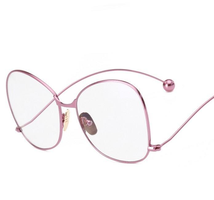c9ebd2a06679e6 N42 2016 Marque Designer De Mode lunettes de soleil lentille claire Femmes  Lunettes UV400 protection Personnalité Exagérée Hommes Lunettes de Soleil