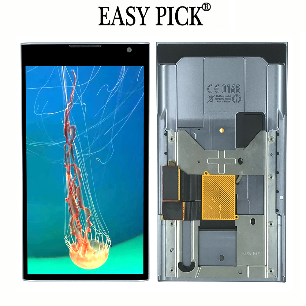 For BlackBerry Priv STV100 1 STV100 3 STV100 4 LCD Display Touch Screen Digitizer Assembly Replacement