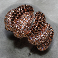 Wholesale Fashion Rings mix size 3PCS PER LOT AAA zircon,This product has 372 stone ALW1316