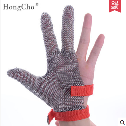 US $42 99 |Needle proof Cut Proof Stab Resistant Work Gloves Stainless  Steel Wire Safety Gloves Anti cutting Glove Sewing machine proof -in Safety