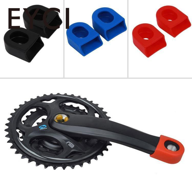 EYCI 1Pair Sleeve Silicone Sets Silicon Bicycle MTB Crank Arm Boots Protectors