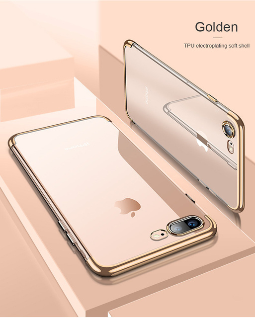 Silicon Clear Soft iPhone Case