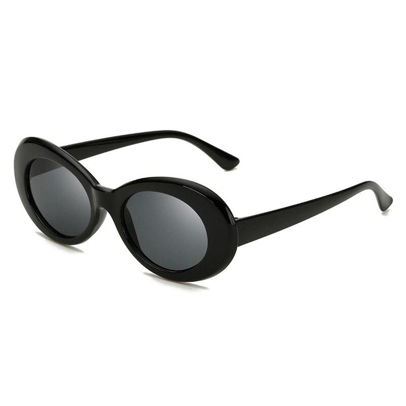 2018 Lukoko Goggles NIRVANA Kurt Cobain Round Sunglasses For Women Mirror Glasses Retro Female Male Sun Glasses UV400