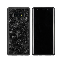 Luxury Forged Real Carbon Fiber Hybrid Case TPU+PC Anti Shock Cover for Samsung Galaxy Note 9 Phone Case