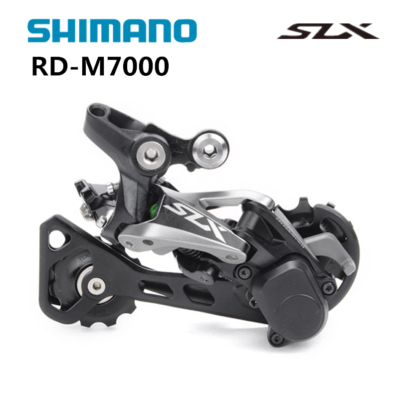 SHIMANO SLX RD M7000 GS 11S Speed Middle Cage Rear Derailleur Shadow System Locking Button цена
