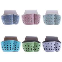 Kitchen Sponge Drain Holder Wheat Fiber Sponge Storage Rack Basket Wash Cloth Or Toilet Soap Shelf Organizer(China)