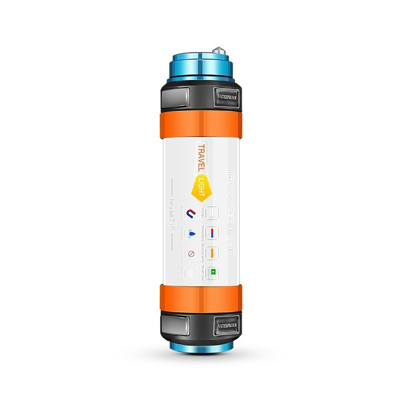 Special Chance of  2019 LED Camping Lantern with Magnet Tent Light USB Charging Outdoor Emergency Power Light Flashlig