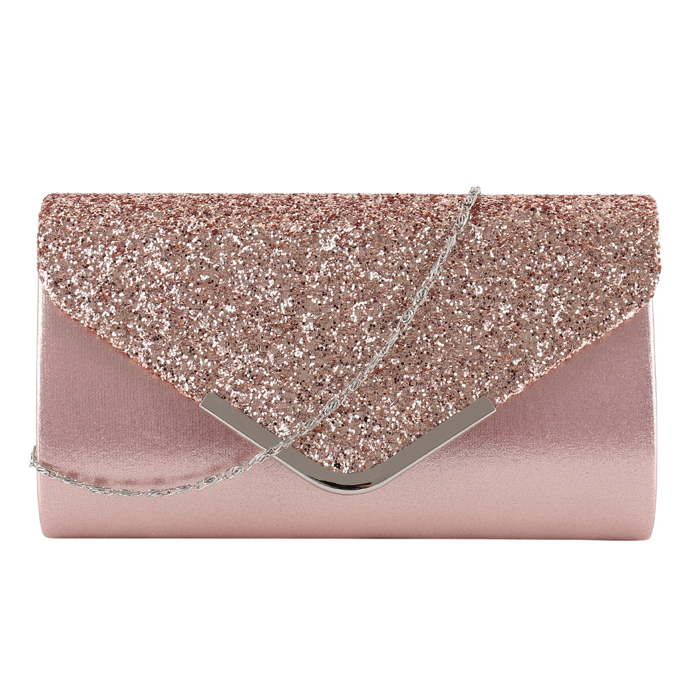 Clutch Bag Female Satin Diamante Handbag Vintage Chain Evening Clutch Wallet Party Envelope Phone Bag Bolsos in Shoulder Bags from Luggage Bags