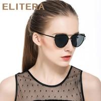 016 Fashion Cat Eye Sunglasses Women Brand Designer Alloy Frame Coating Sun Glasses For Women Driving