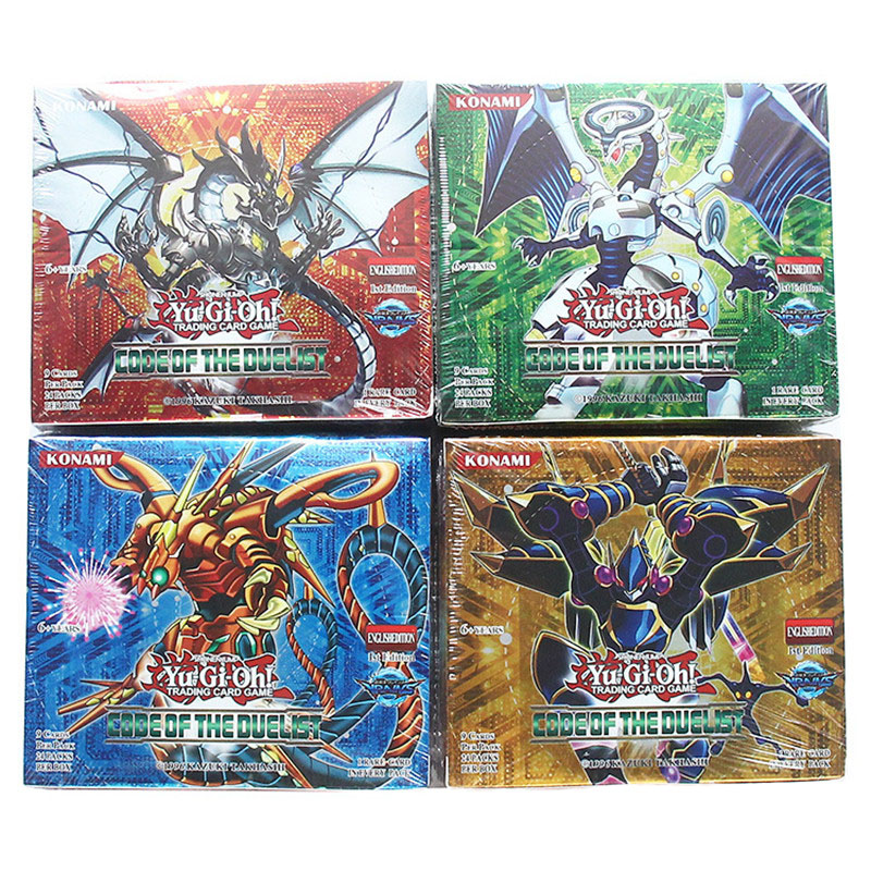 Yugioh Cards 216 Pcs Set With Box Yu Gi Oh Anime Game Collection Cards Toys For Children Boys Brinquedo