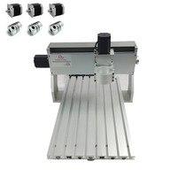 CNC Engraving Machine Frame DIY CNC Suitable wood Router 3040 0.8KW 500W Spindle fixture 65mm