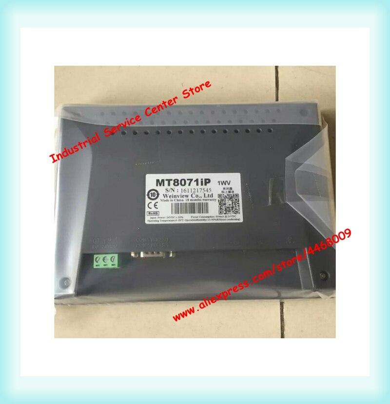 Weinview nueva caja TK6071iQ MT8071IP MT6071iP 7 pulgadas HMI pantalla táctil TFT 800*480 365 garantía del día