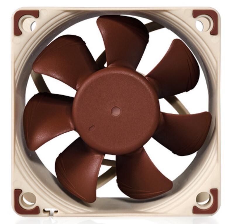 Noctua 60mm heat sink Fan NF-A6X25 FLX Cooler Fan Cooling Fan Cases & Towers Fan вентилятор noctua nf a6x25 flx 60mm 1600 3000rpm nf a6x25