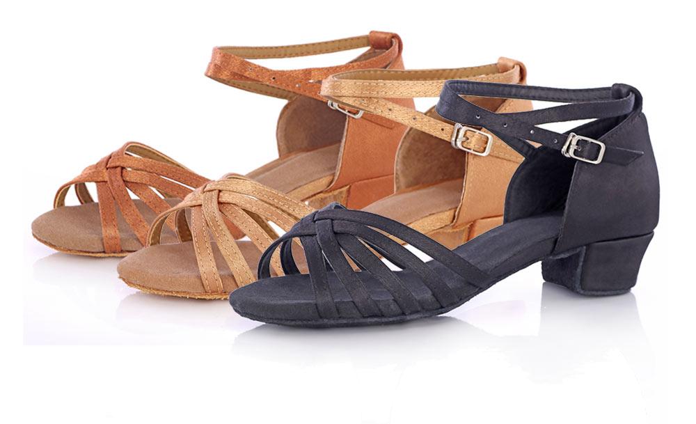 New Arrival Ballroom Tango Latin Dance Shoes High Quality Latin Woman Dancing Shoe Wholesale Women'S Heel Shoes Fast Shipping (4)