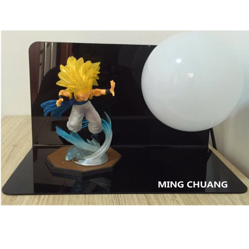 5Dragon Ball Z Super Saiyan Gotenks With LED Light Table Lamp PVC Action Figure Collectible Model Toy D4485Dragon Ball Z Super Saiyan Gotenks With LED Light Table Lamp PVC Action Figure Collectible Model Toy D448