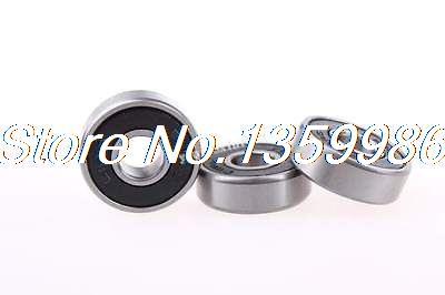 50 pièces 608RS 8x22x7mm bouclier roulements à billes à gorge profonde