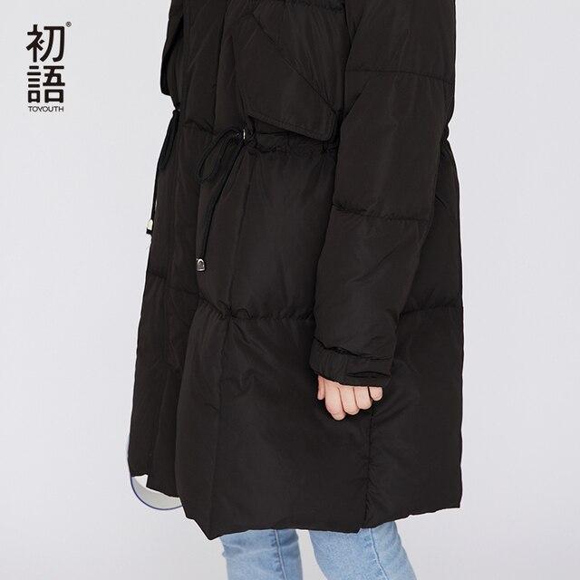 Toyouth Femmes Duvet de Canard Manteau Dhiver 2018 Chaud Puffer Manteau Dames manteau En Duvet Épaississement Mujer Neige Survêtement Occasionnel
