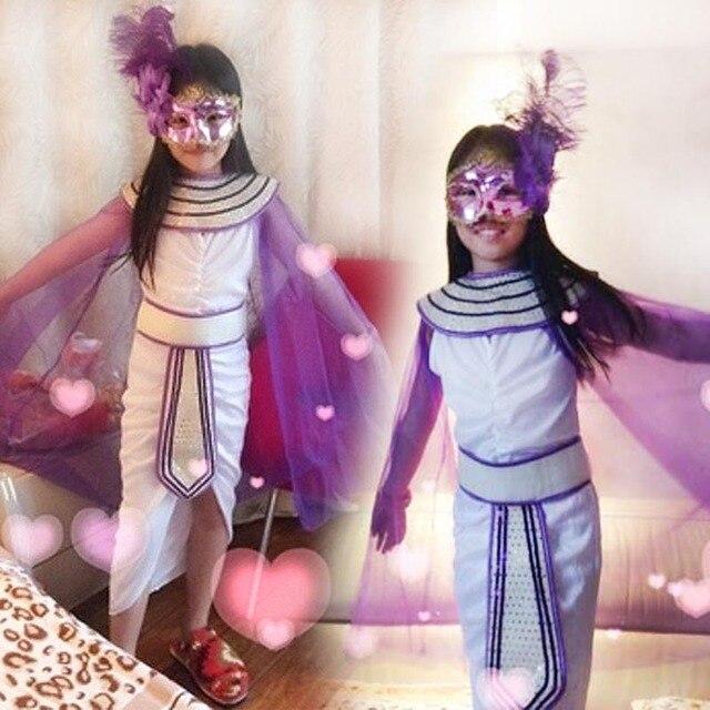 Long Princess Dress Prince halloween costume children dress Performance Clothing Cosplay Girls boy princess costumes for girls