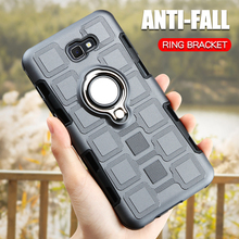 Ring Armor Case For Samsung Galaxy J7 Prime 2 Phone Case For Samsung J7 Prime 2 2018 J7 Prime2 G611F Silicone Hard Back Cover цена