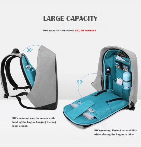 Абсолютно Кака 15 дюймов ноутбук рюкзак Для мужчин школьная сумка-рюкзак Racksacks Для мужчин Путешествия Рюкзак Плечо Сумки Рюкзак Mochila