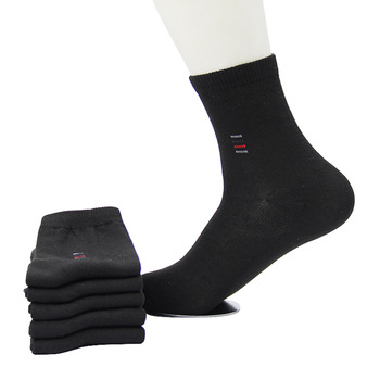 5pair Classic Business Socks - High Quality Breathable Cotton