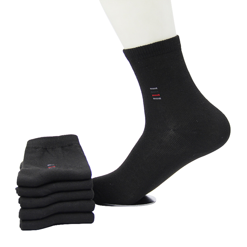 5pair=10pcs Cheap Price Men Socks Classic Business Brand Calcetines Hombre Socks Men High Quality Breathable Cotton Casual Socks
