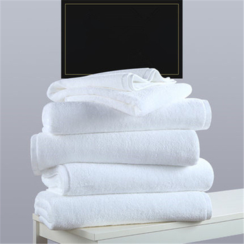 NEW Five-star hotel beauty clubhouse pure white bath towel pure cotton adult male and female children jacquard bath towel