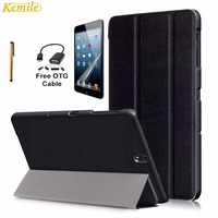 Kemile Ultra Slim Lightweight Standing Smart Cover For Galaxy Tab S3 9 7 Inch T820 T825