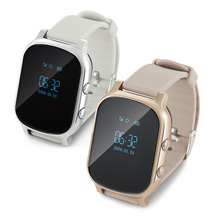 Neue Bluetooth Smart Uhr T58 Kinder GPS Tracker Smartwatch Google Map SOS Anti Verloren GSM Locator Kinder Smart Armband