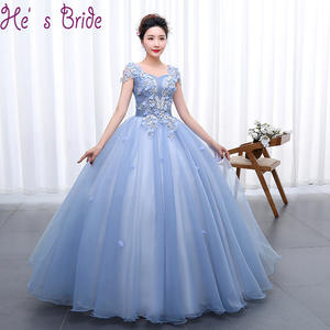 He's Bride Quinceanera Dresses Ball Gowns Long Party