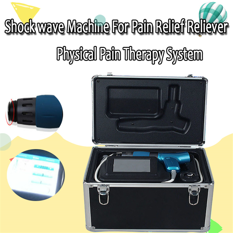 To Treat ED Effective Physical Pain Therapy System Acoustic Shock Wave Extracorporeal Shockwave Machine For Pain Relief Reliever