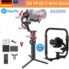 FeiyuTech AK2000 3-осевой Камера ручной шарнирный стабилизатор для камеры GoPro MaxLoad 2,8 кг для Nikon D850 sony A9 A7III A7S A7R Canon 5diii 5DSR