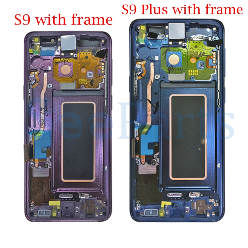 "Image 3 - 5.8""For Samsung GALAXY S9 Lcd s9 plus Display Touch Screen Digitizer Assembly 6.2""For Samsung GALAXY S9 G9600 S9 Plus G9650 lcd-in Mobile Phone LCD Screens from Cellphones & Telecommunications"