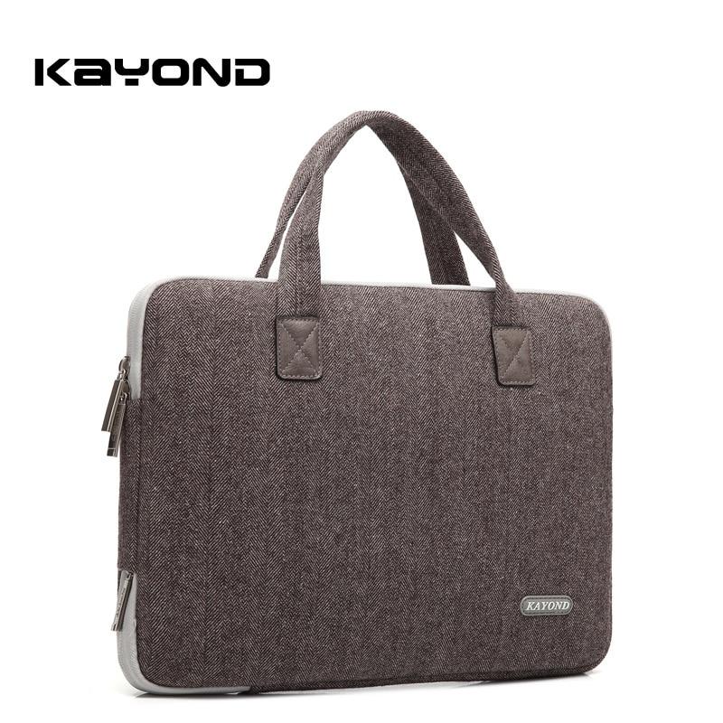 Kayond Nylon Business Laptop Sleeve Bag Bolso a prueba de arañazos - Accesorios para laptop - foto 2