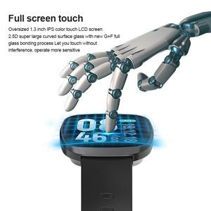 Image 2 - النساء ساعة ذكية جهاز مراقبة اللياقة الرياضية مراقب معدل ضربات القلب Smartwatch بلوتوث تحكم بالموسيقى للماء ووتش لالروبوت
