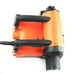 220V elektryczna maszyna do strugania ścian betonowa łopata maszyna do skrobania ścian w Akcesoria do elektronarzędzi od Narzędzia na