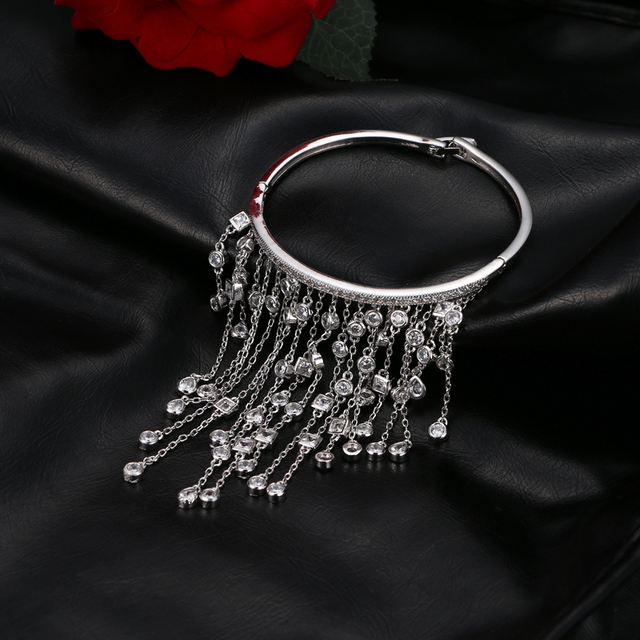 Купить emmaya роскошный aaa cz браслет с подвеской в виде кисти femme