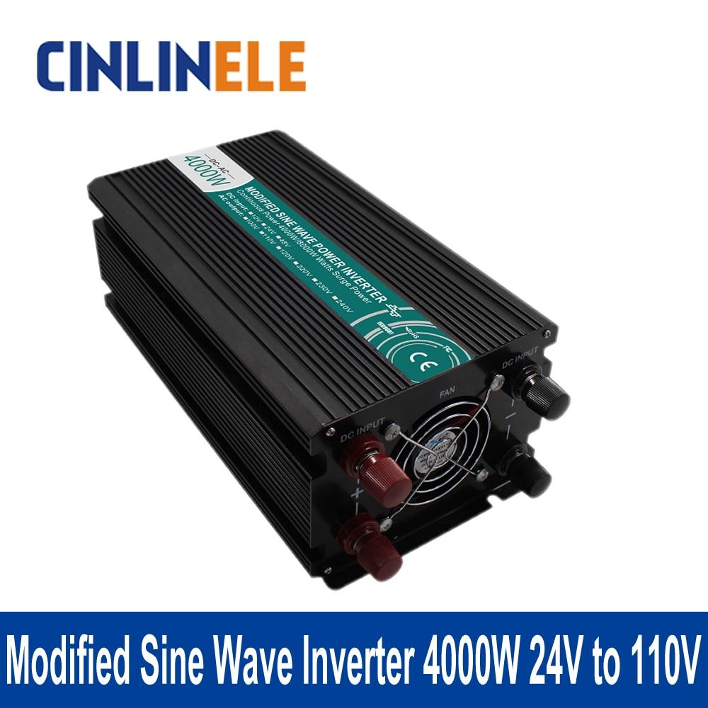 Modified Sine Wave Inverter 4000W CLM4000A-241 DC 24V to AC 110V 4000W Surge Power 8000W Power Inverter 24V 110V
