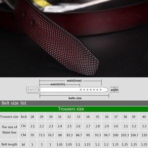 Image 5 - [LFMB] Gürtel Männer Echtes Leder Designer Gürtel Männer Hohe Qualität Luxus Männlichen Strap Cinturones Hombre Kostenloser Versand