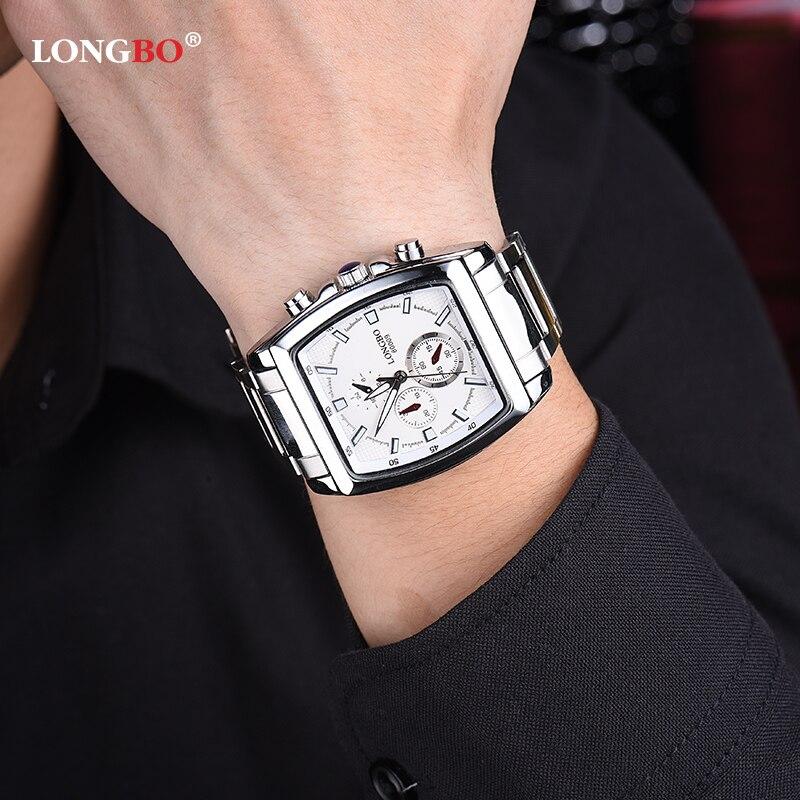 f9a66bd78a5 New LONGBO Mens Watch 80009 30m Waterproof Sport Men Watch For Boys Fashion  Quartz Wristwatch Relogio Masculino